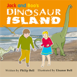 Jack and Boo's Dinosaur Island Cover - Thumbnail