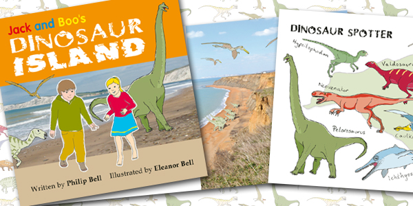 Jack and Boo's Dinosaur Island - Packshot - Copyright Beachy Books