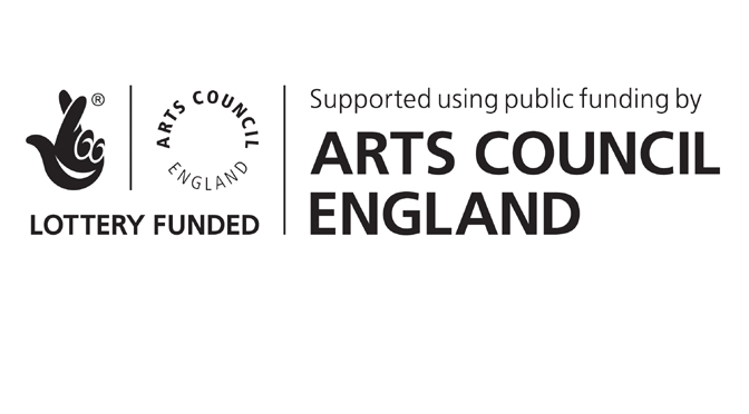 Arts Council National Lottery Funding Logo