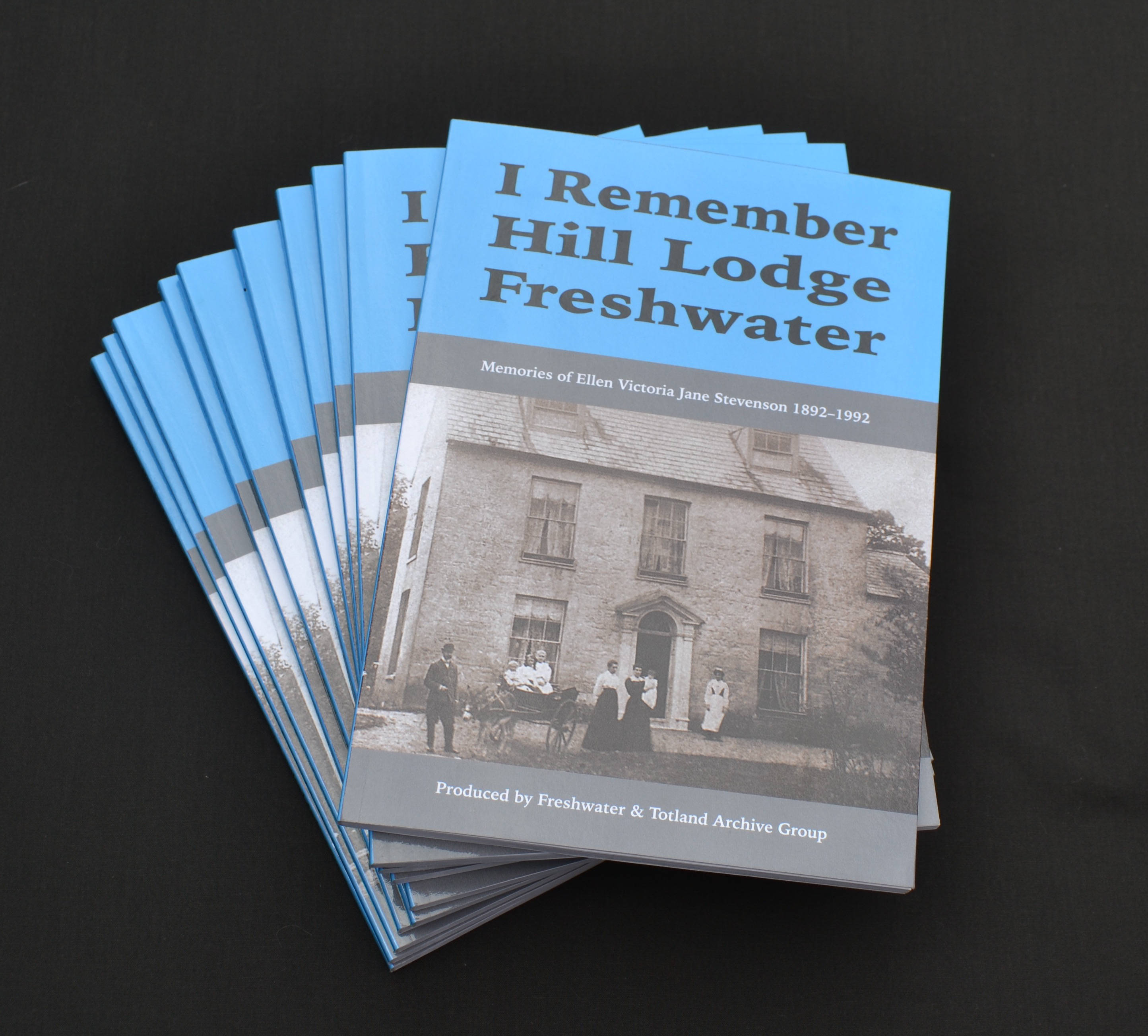 I Remember Hill Lodge Freshwater by Freshwater & Totland Archive Group - Pack Shot and Cover - Web Small