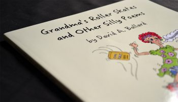Grandmas Roller Skates and Other Silly Poems - Close Up of Cover